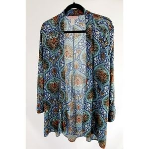 Zoe & Rose Band Of Gypsies Kimono Size S